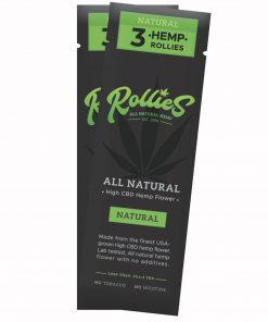 Rollies CBD Cigarettes Foil 3-Pack