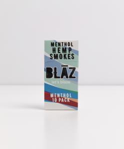 Blaz CBD Cigarettes Menthol